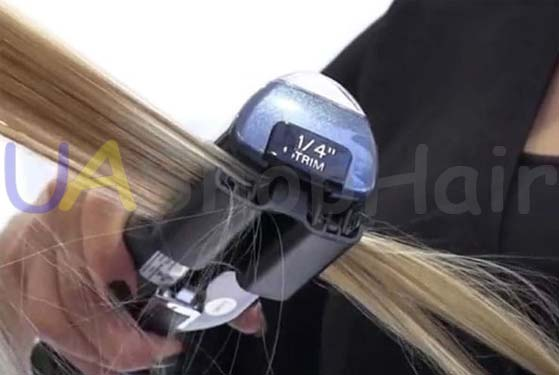 Photo hair polishing