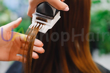 Photo Hair polishing-rejuvenation