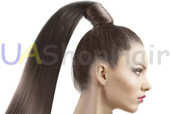 Photo Stylish and modern hairstyle