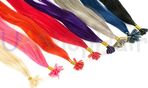 Colored strands