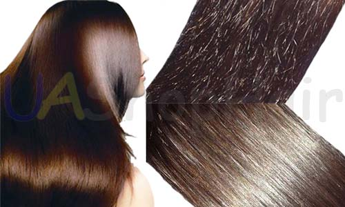 Amazing hair polishing results